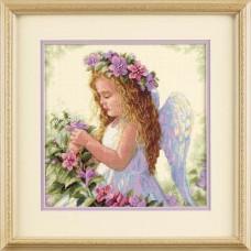 """Цветочный ангел//Passion Flower Angel"" DIMENSIONS"